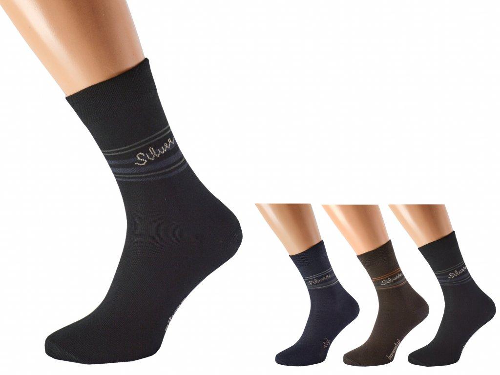 Antibakteriální ponožky proti pocení SILVER