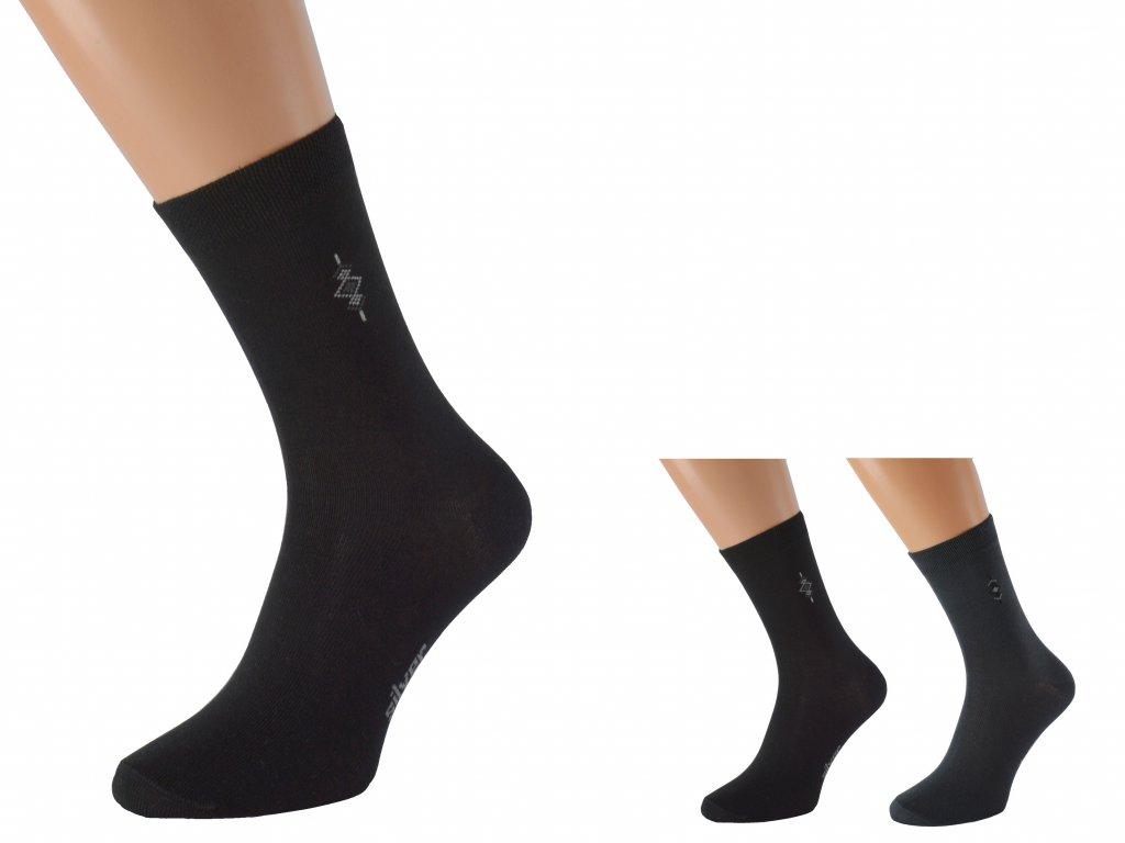 Antibakteriální ponožky se stříbrem BOBOLYC