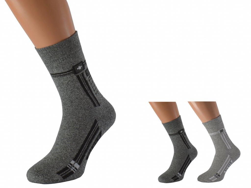 Bavlněné ponožky se stříbrem PULYC
