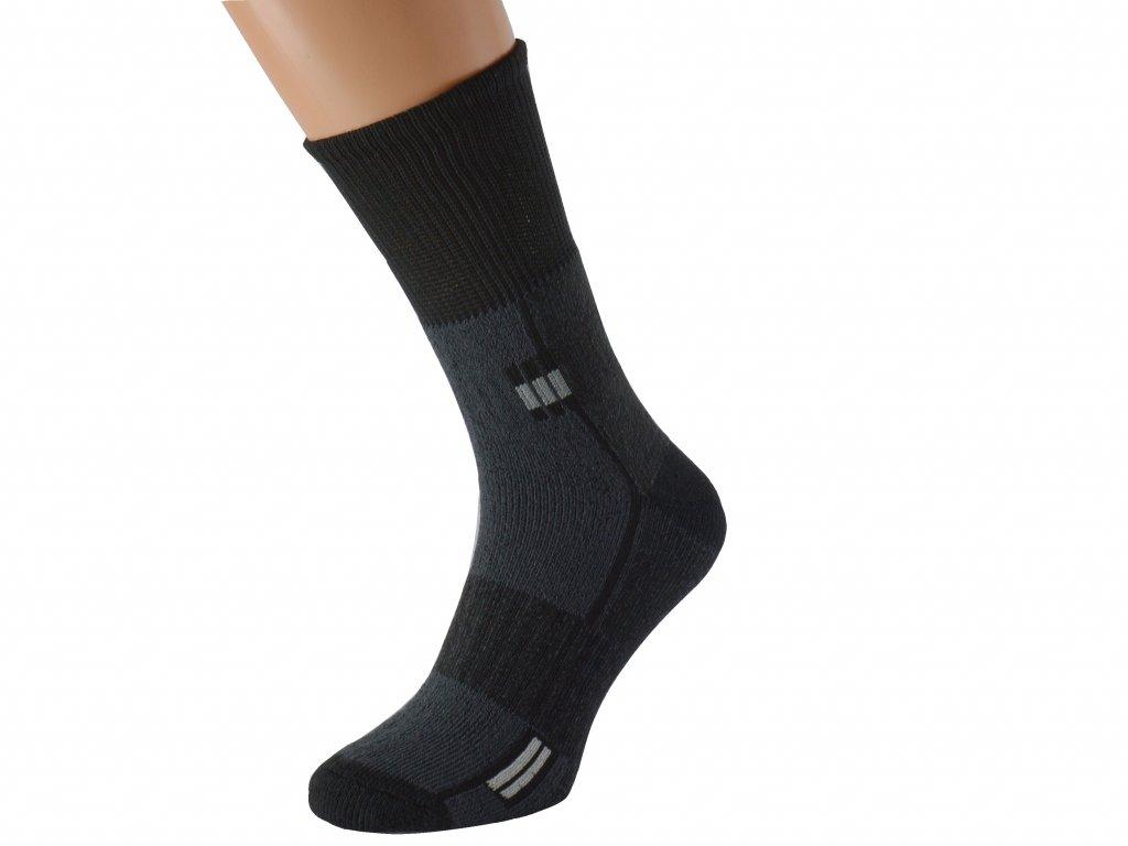 Outdoorové ponožky se stříbrem SUPER