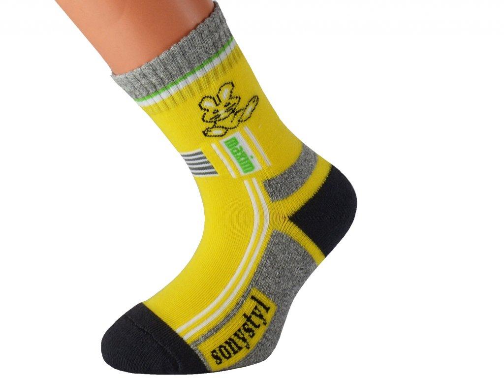 Dětské barevné ponožky LEVIKID