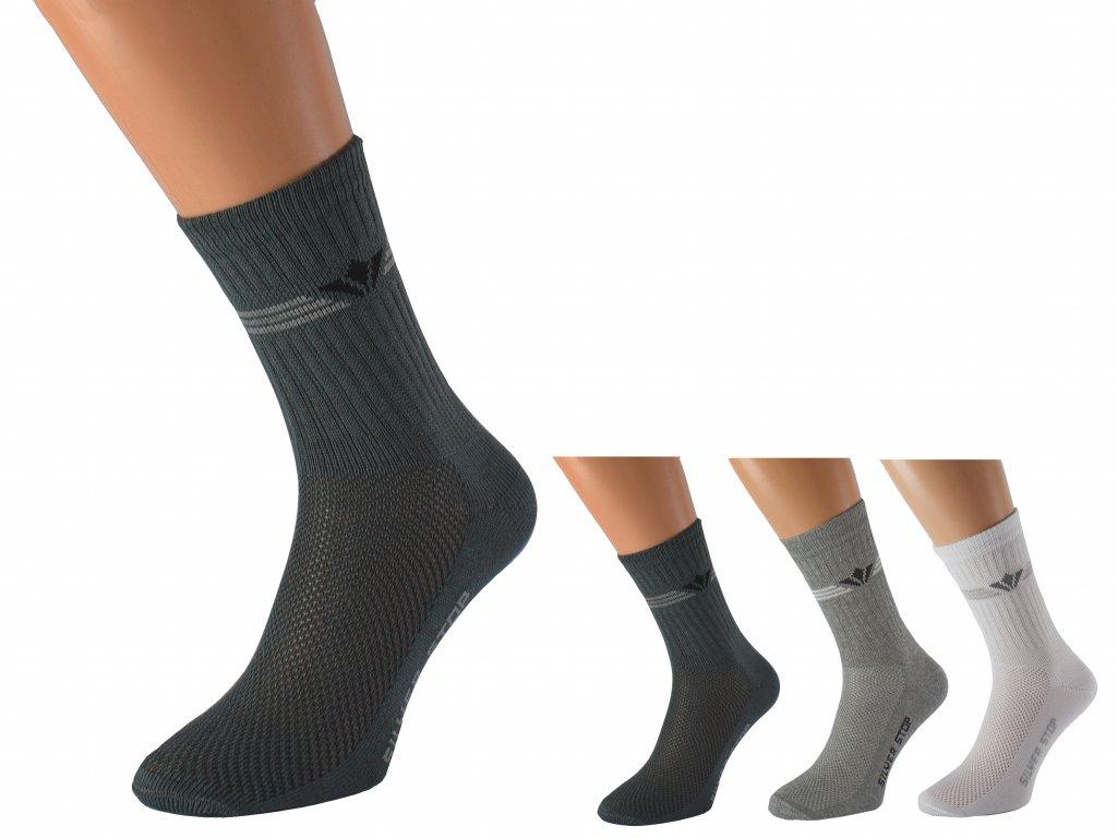 Bavlněné ponožky proti zápachu nohou OTO