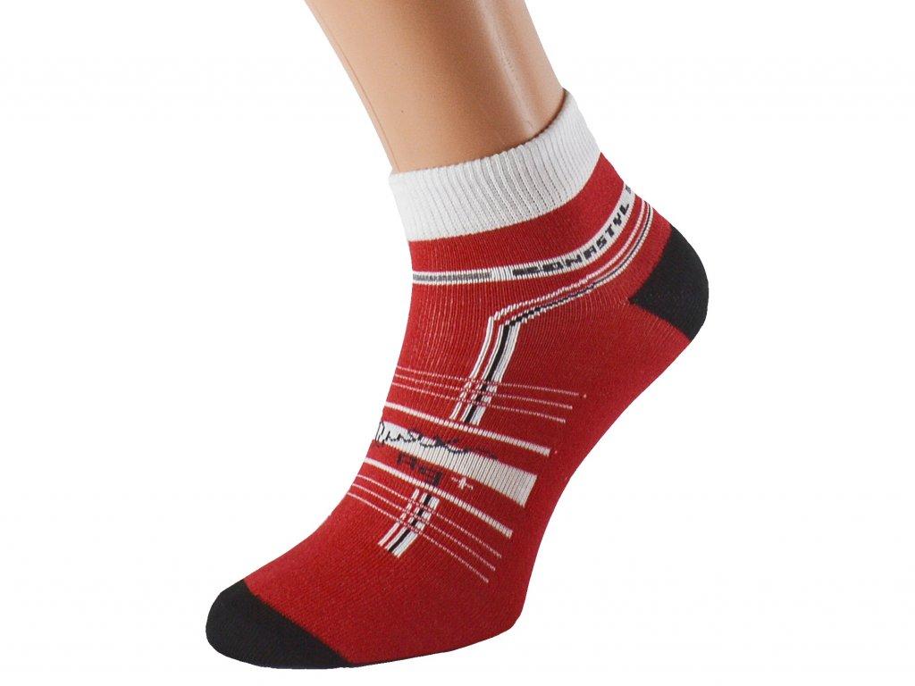 Funkční ponožky cyklo černé
