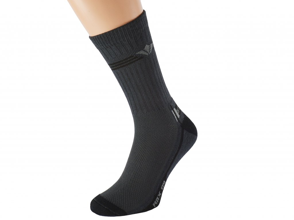 Antibakteriální ponožky bílé Sito