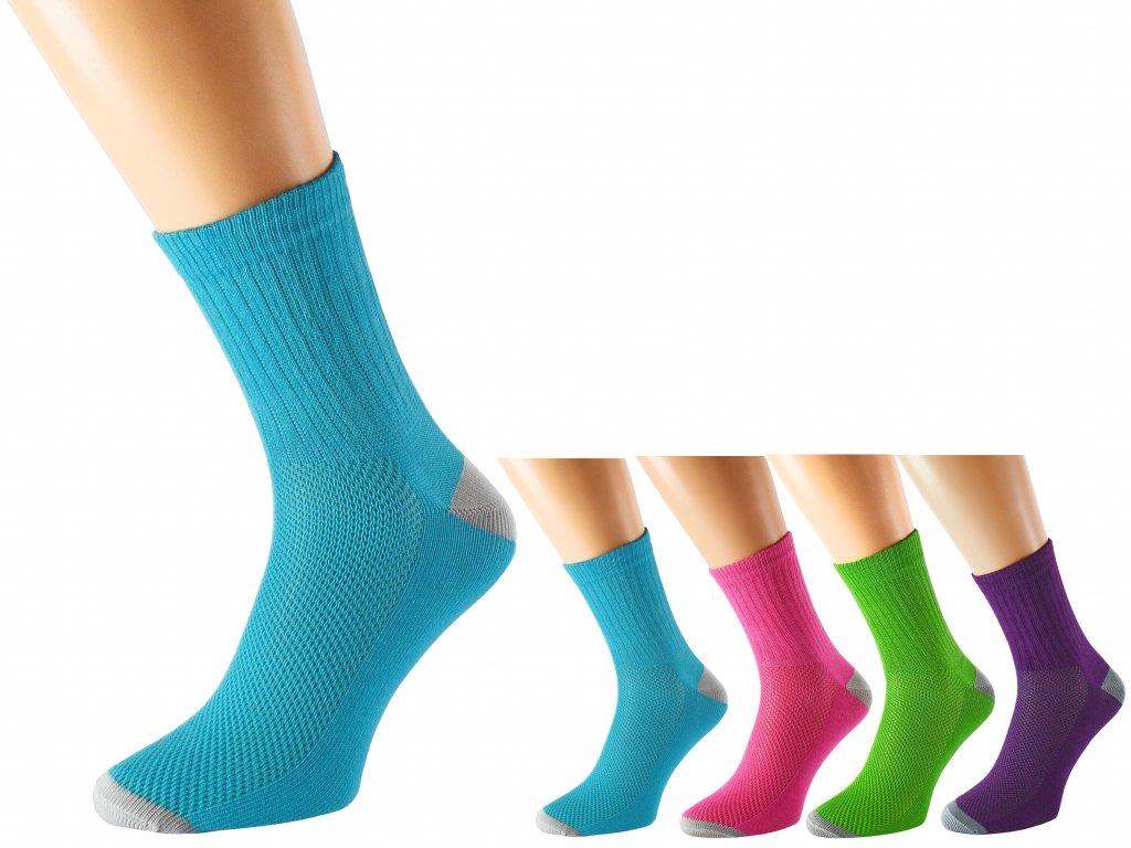 Bavlněné ponožky se stříbrem KRAOTO