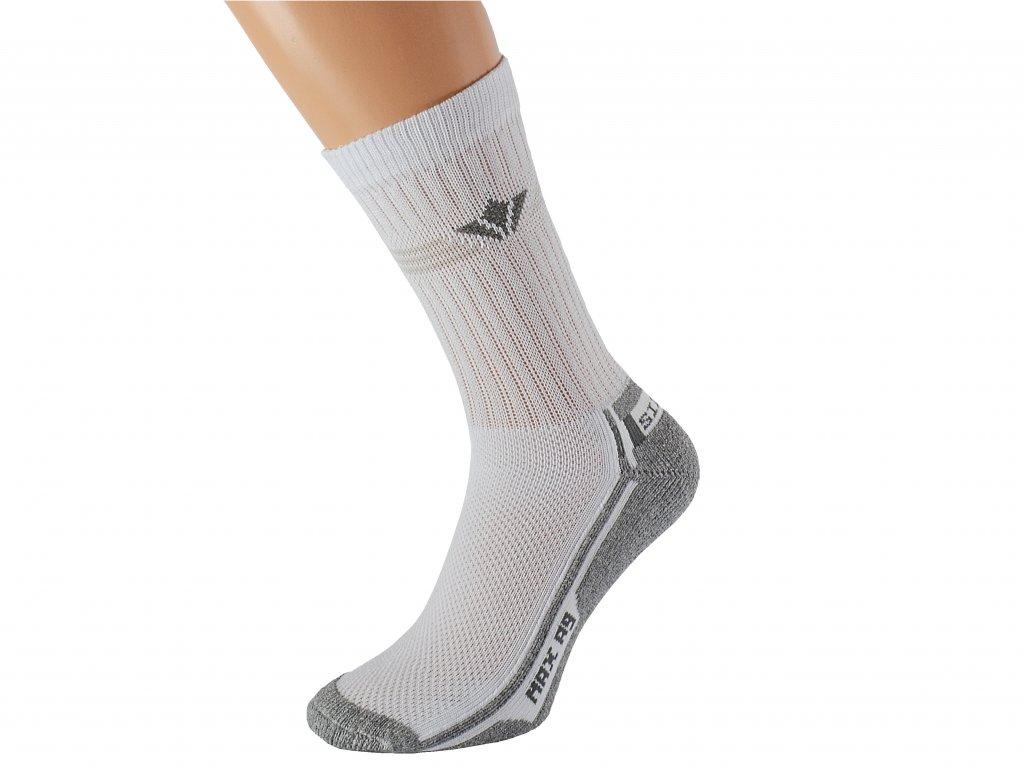 Termo ponožky šedé