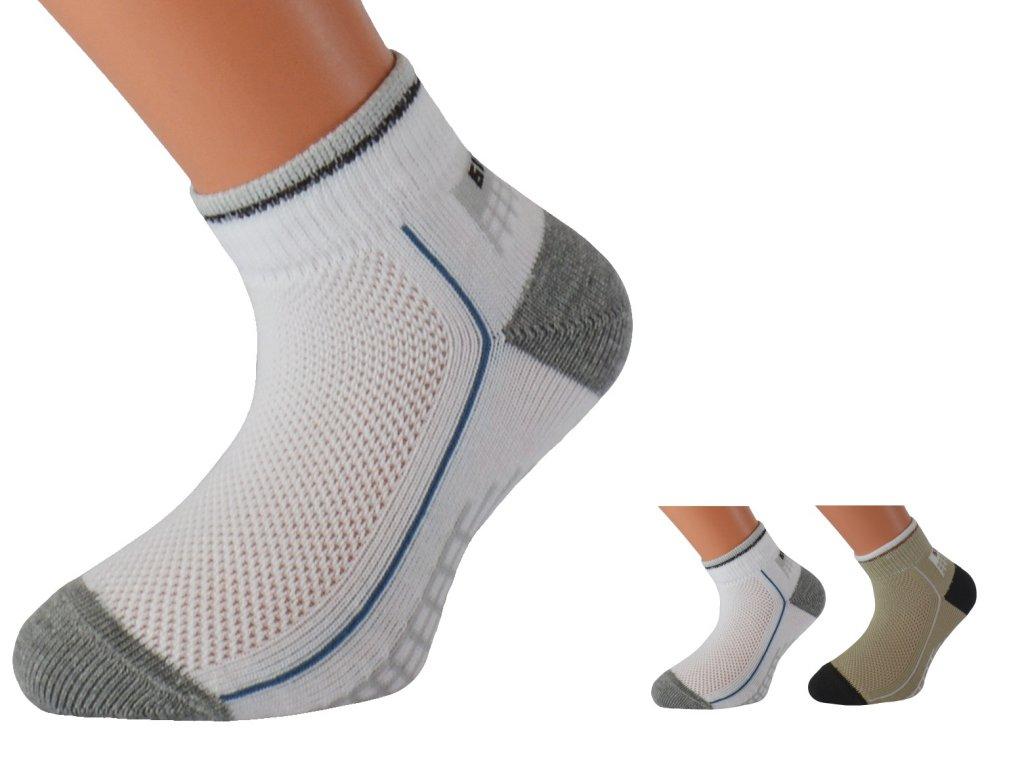 Dětské bavlněné ponožky se stříbrem EMILKID