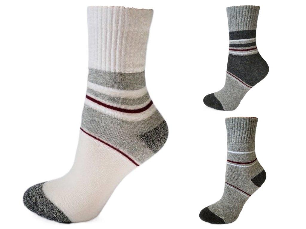 Dětské bavlněné ponožky se stříbrem