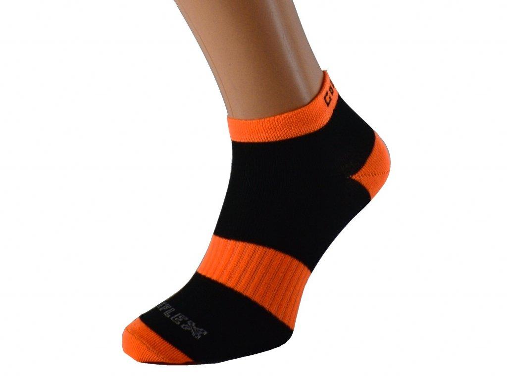 Barevné cyklistické funkční ponožky
