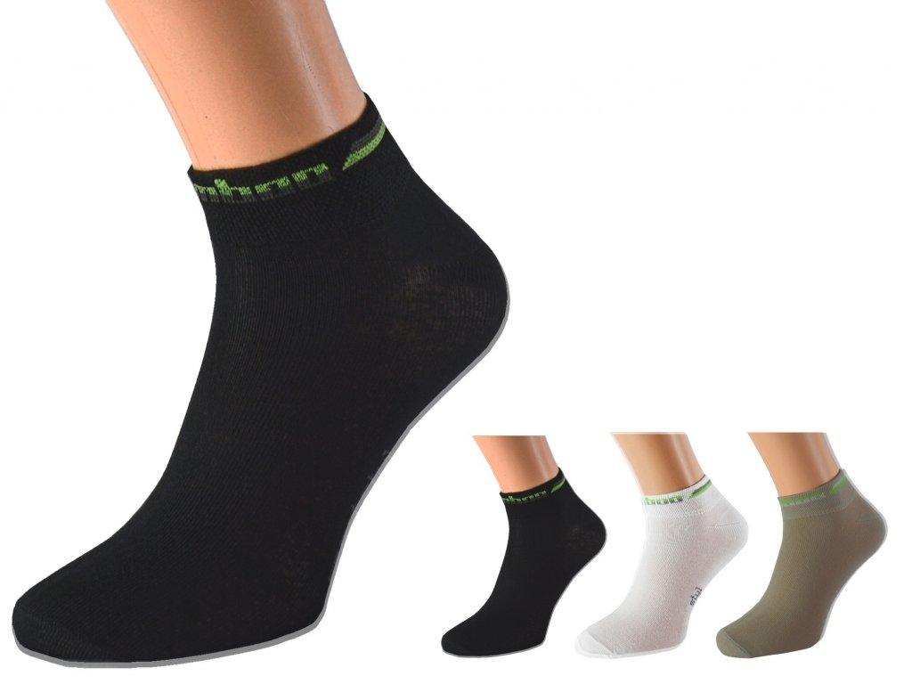 Kotníkové bambusové ponožky BAMB