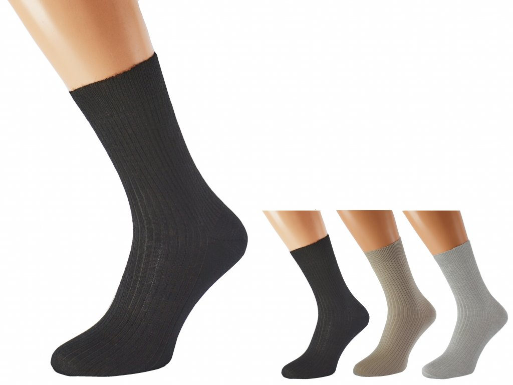 Zdravotní bambusové ponožky LUKÁŠ