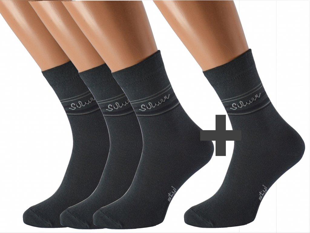 Ponožky proti pocení SILVER 3 páry