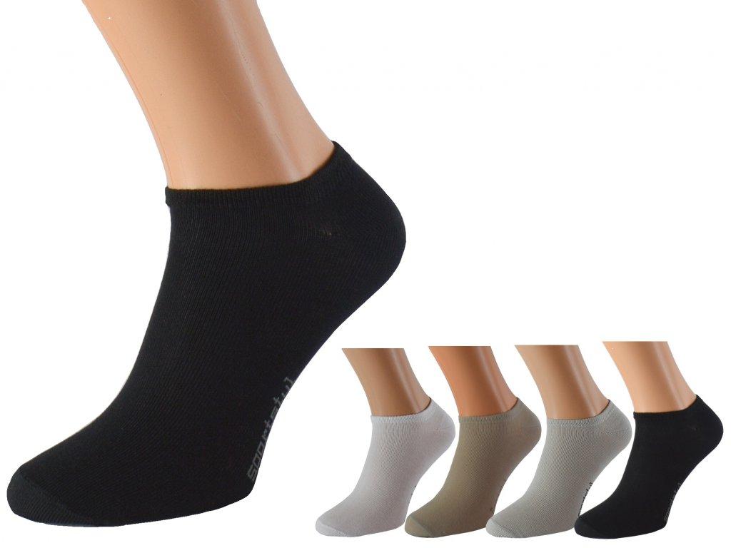 Kotníkové ponožky se stříbrem KRAOBI