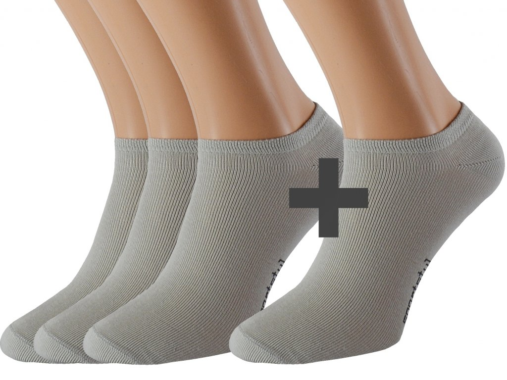 Ponožky se stříbrem kotníkové