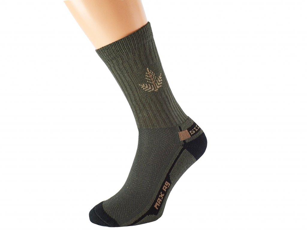 Myslivecké ponožky se stříbrem