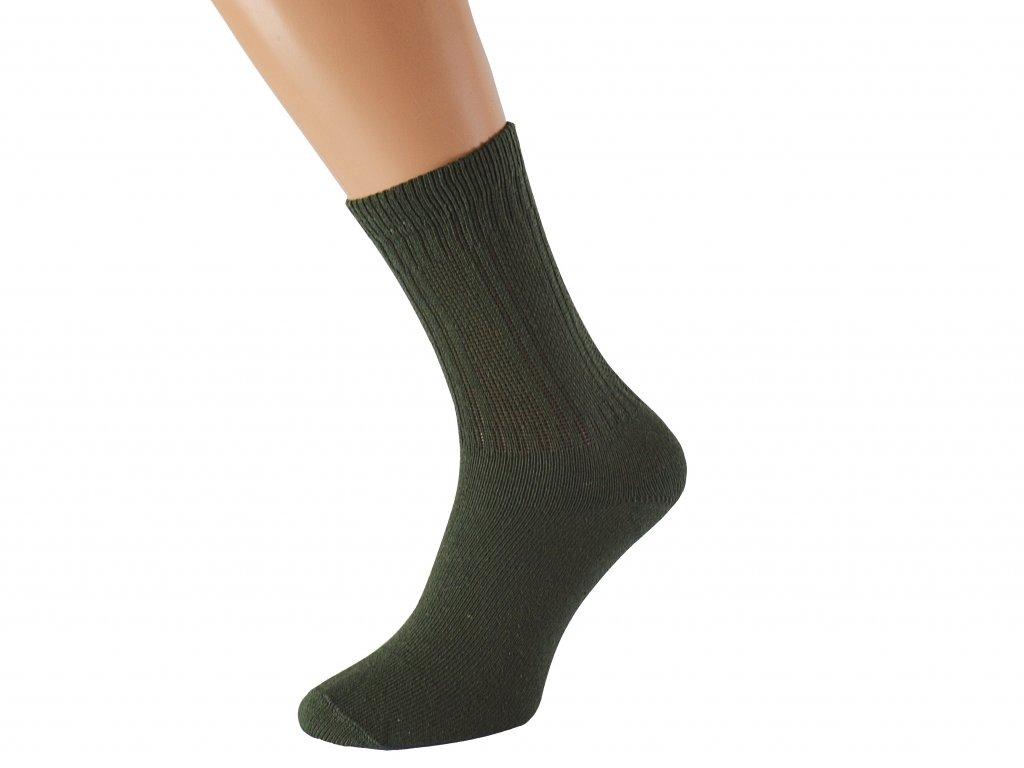 Pracovní ponožky se stříbrem OTOLES