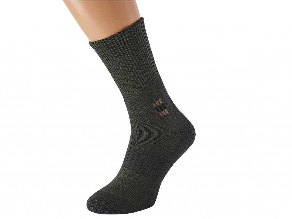 Vojenské ponožky se stříbrem
