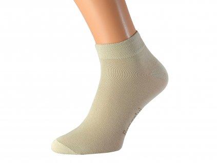 Kotníkové bavlněné ponožky OBI