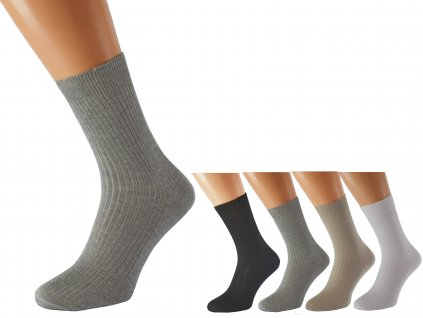Zdravotní ponožky bez lemu LUKÁŠ