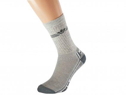 Antibakteriální ponožky SITO šedé 51eb370bf8