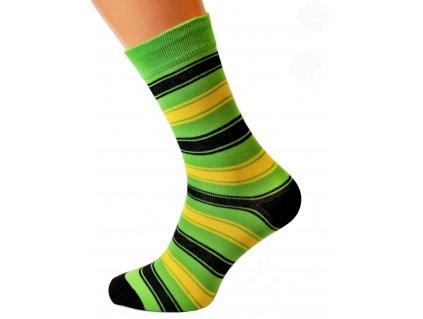 Pruhované ponožky zakázkové