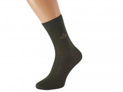 Myslivecké ponožky se stříbrem BOBOLES