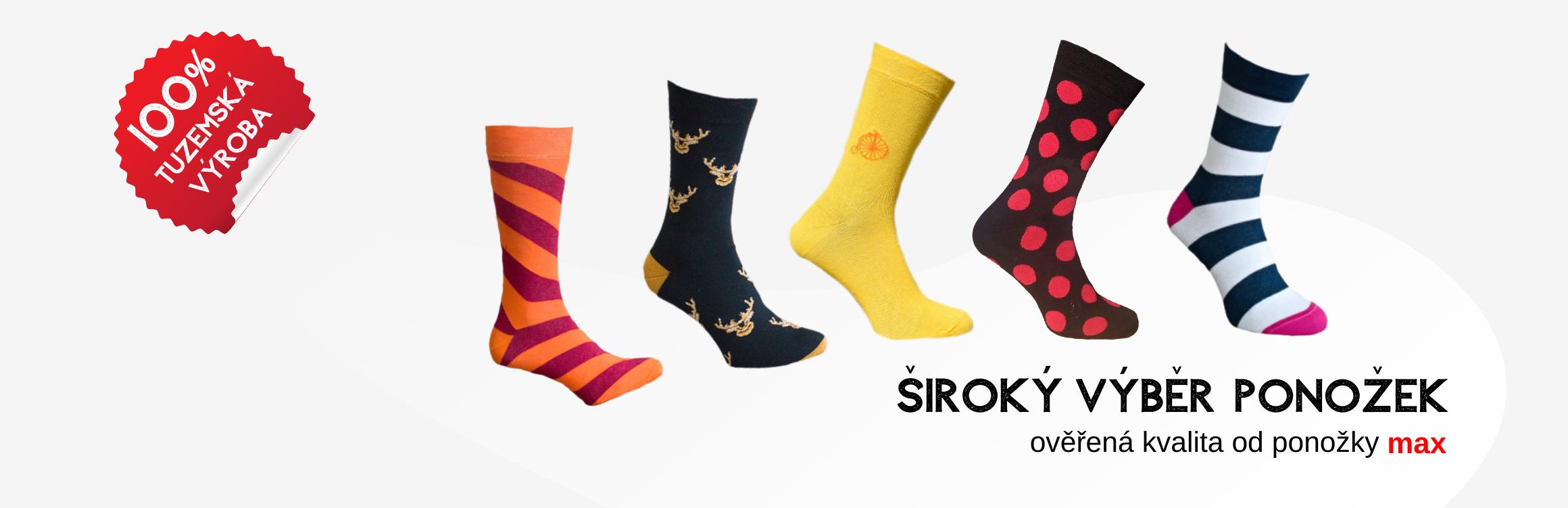 MAX tuzemská výroba ponožek