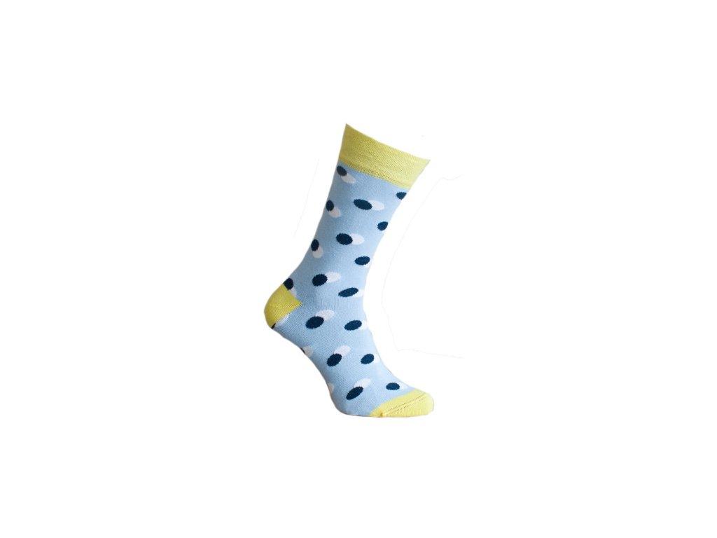 Ponožky s puntíky 038