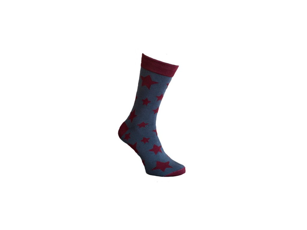 Ponožka hvězda 051