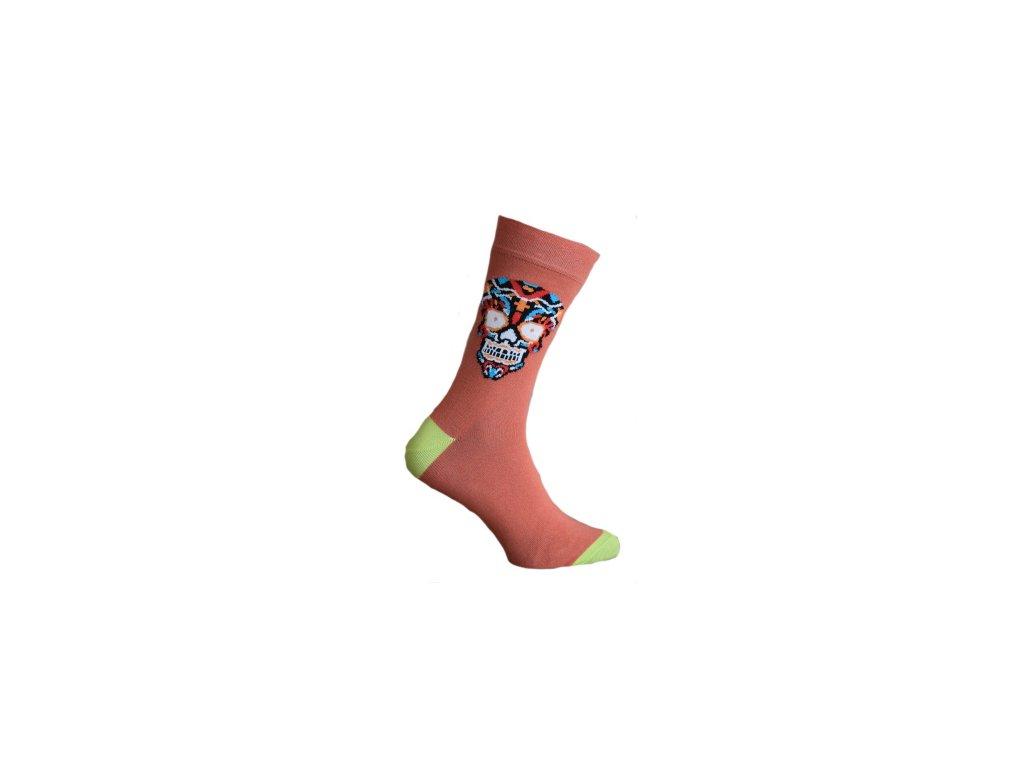 Ponožky s lebkou 802