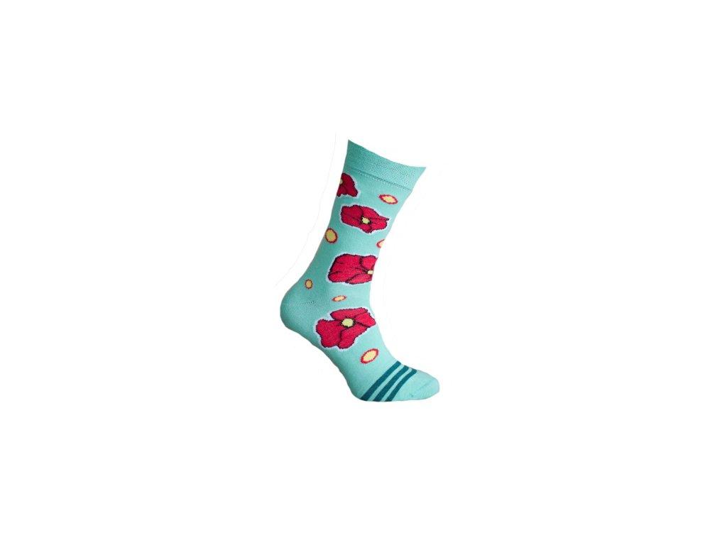Ponožky vlčí mák 761