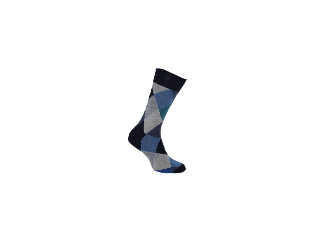 Ponožka  harlekýn 721
