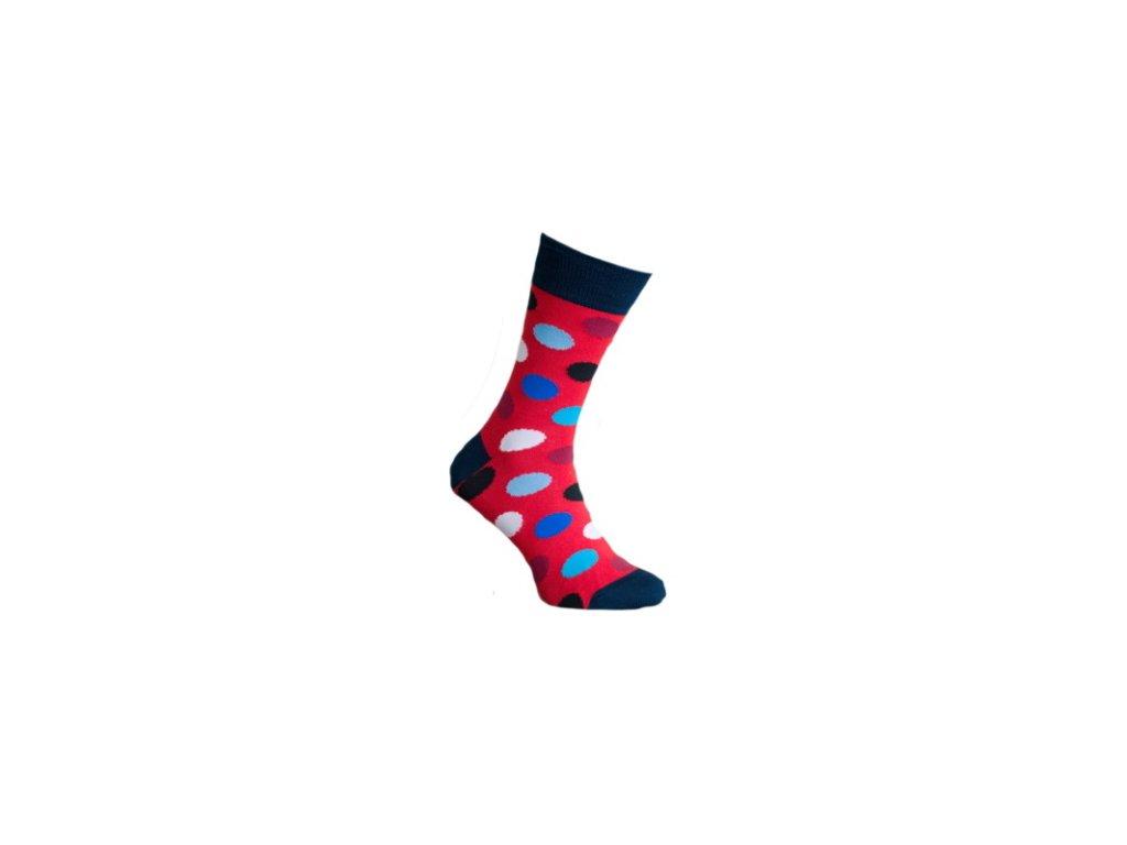Ponožky s puntíky 704
