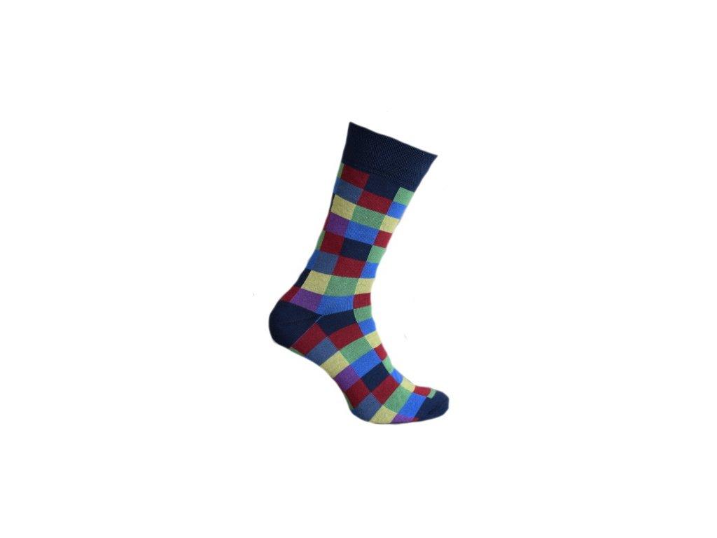 Ponožky kostky 060