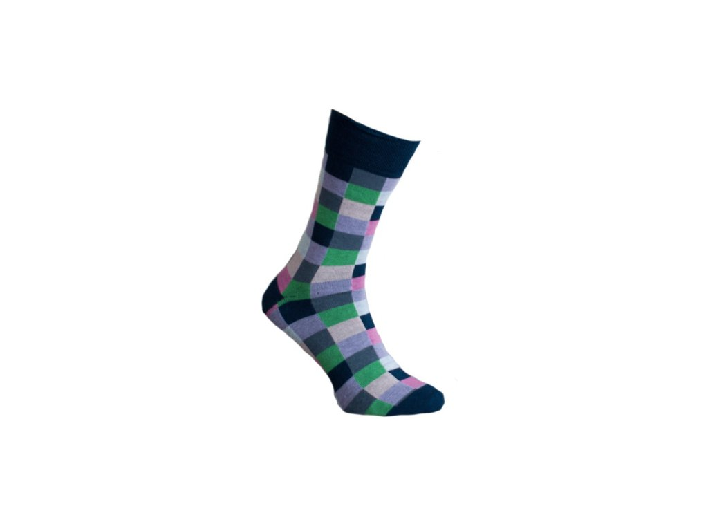 Ponožky kostky 061