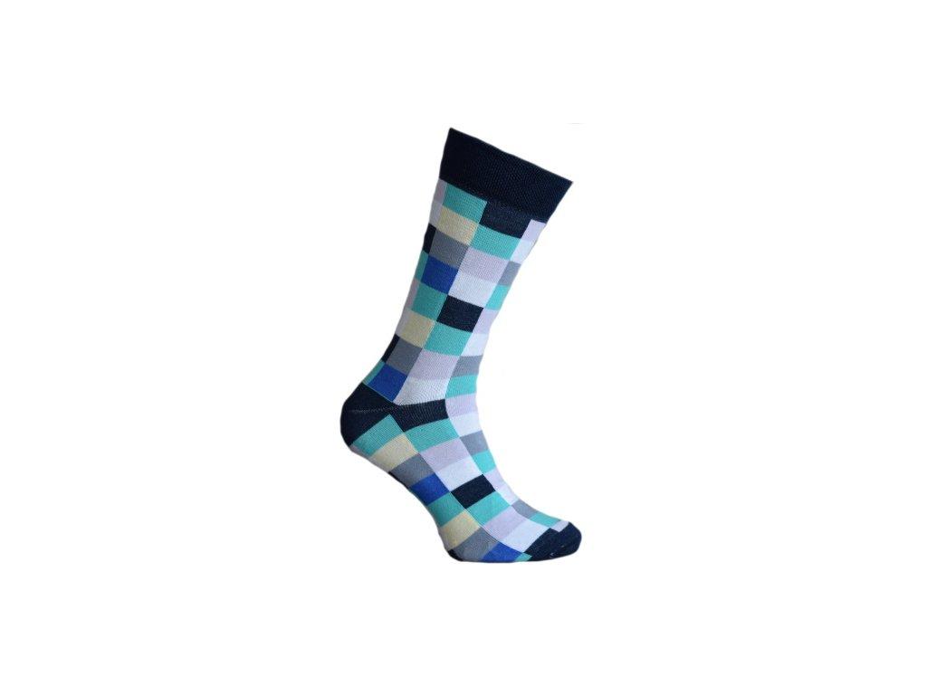 Ponožky kostky 062