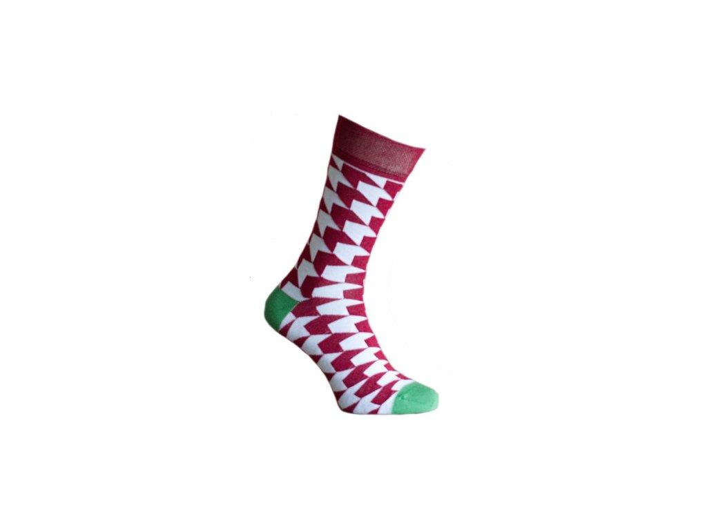 Ponožky 3D kostky 071