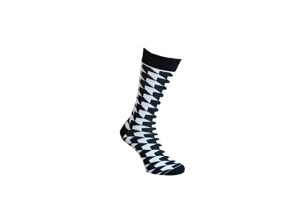 Ponožky 3D kostky 072