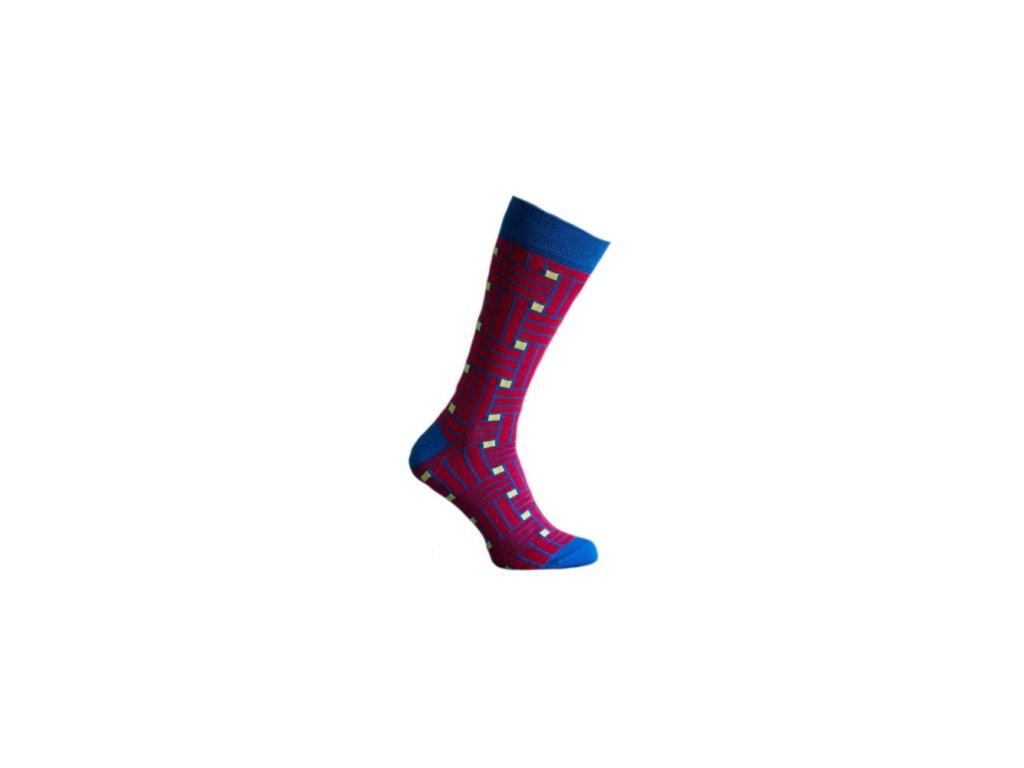 Ponožky 3D pruhy 126