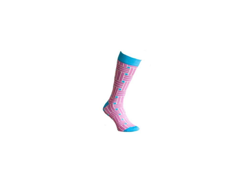 Ponožky 3D pruhy 127