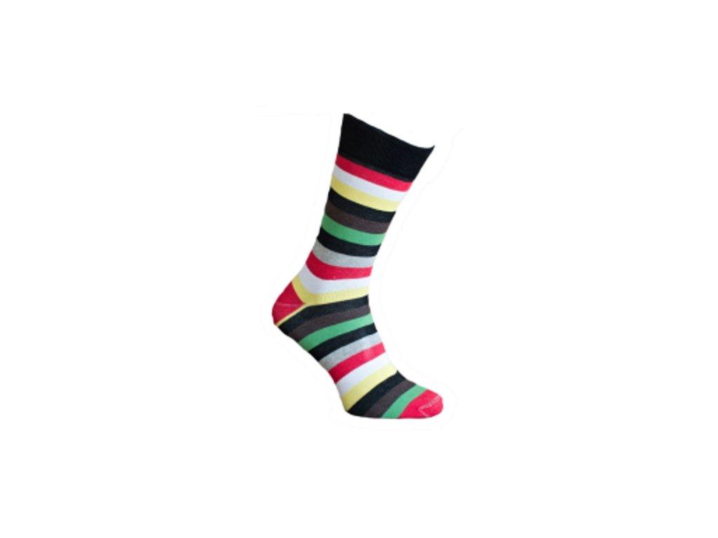 Ponožky proužky 130