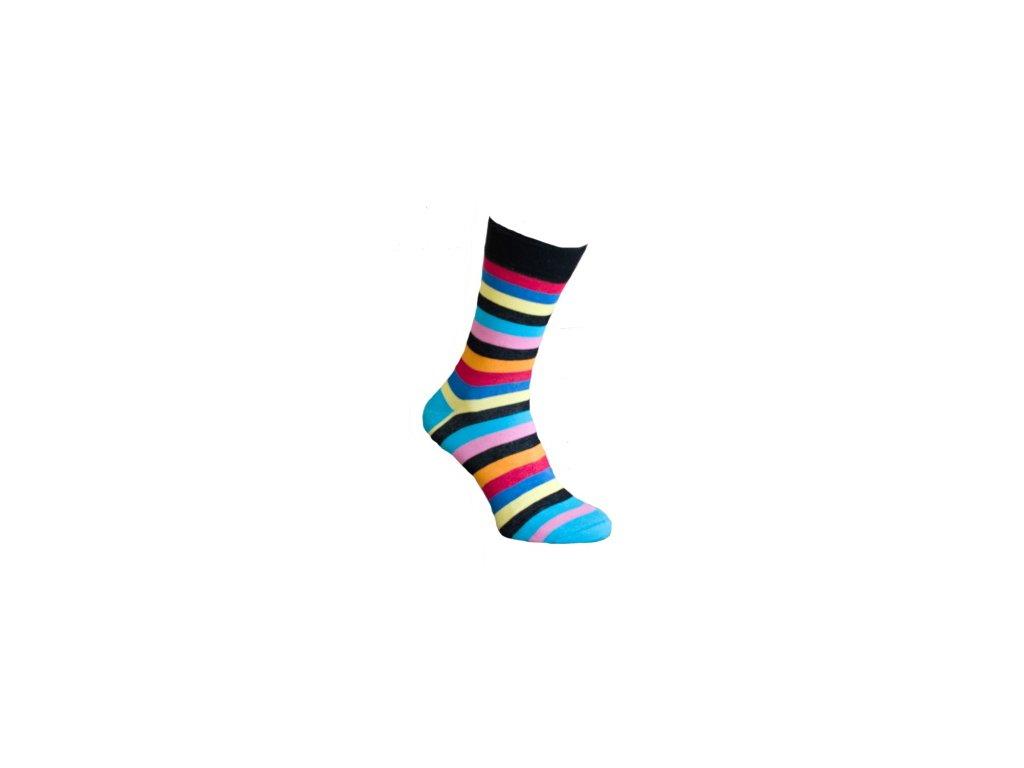Ponožky proužky 131