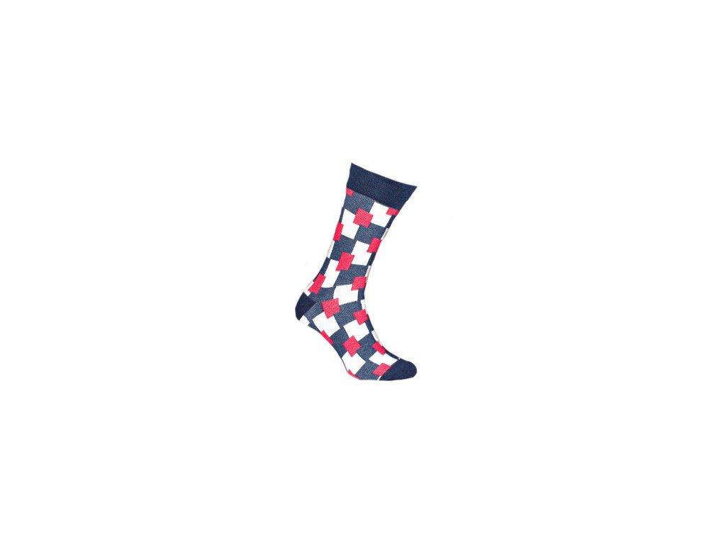 Ponožky kostky 140