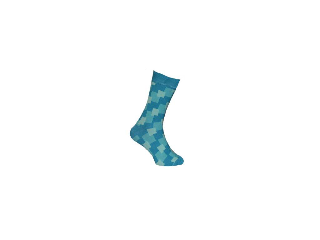 Ponožky kostky 142