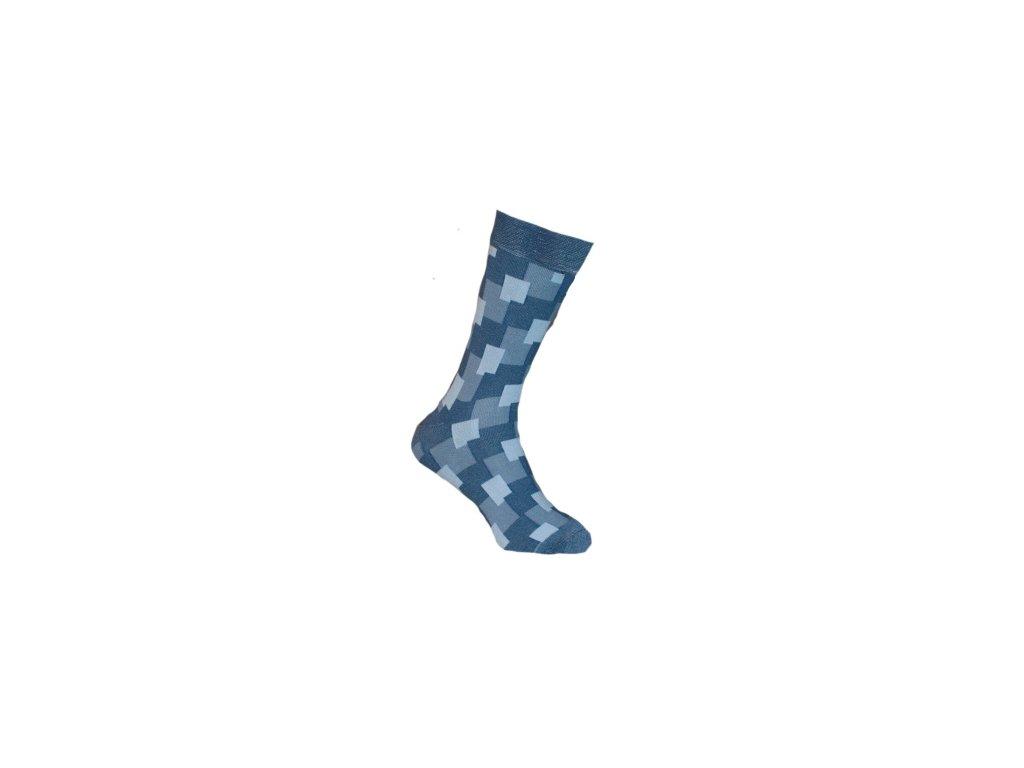 Ponožky kostky 143