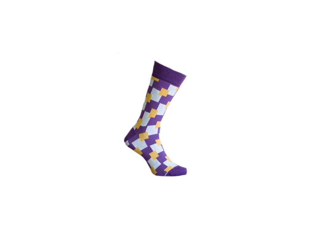 Ponožky kostky 146