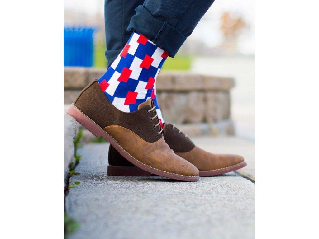 Ponožky kostky 147