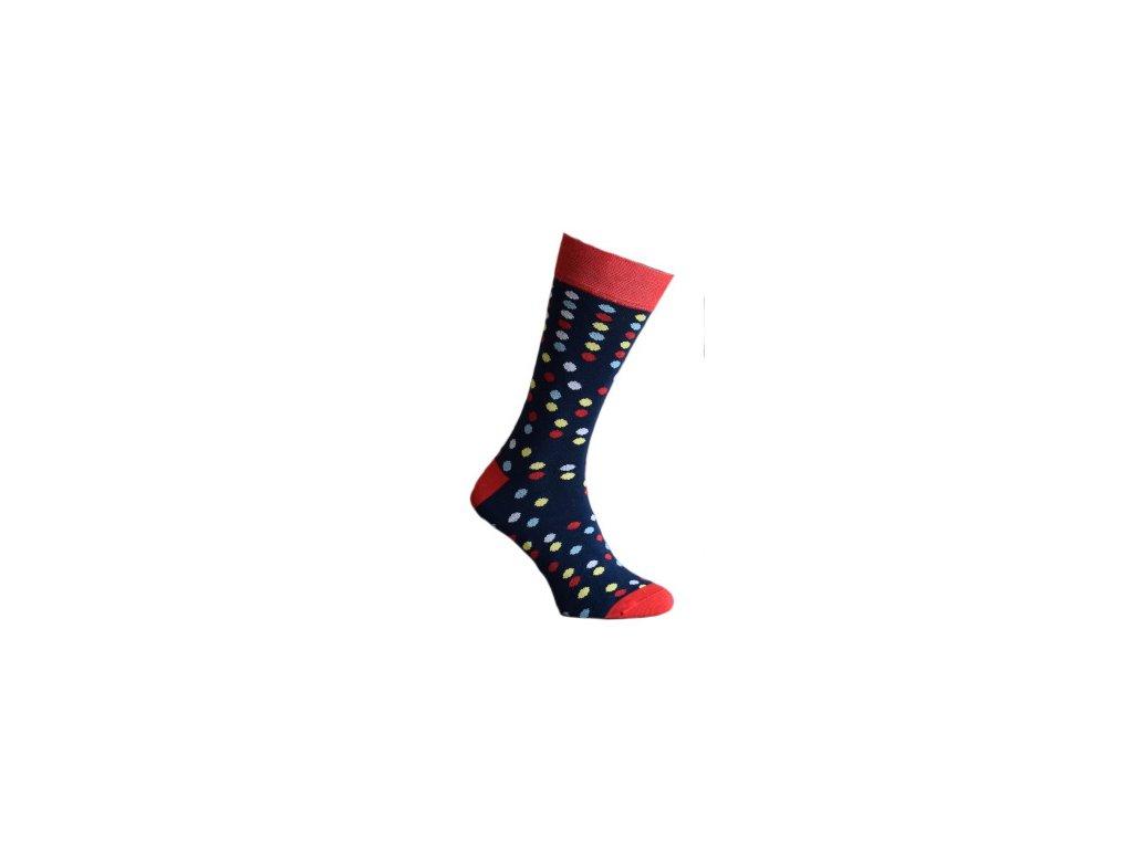 Ponožky s puntíky 180