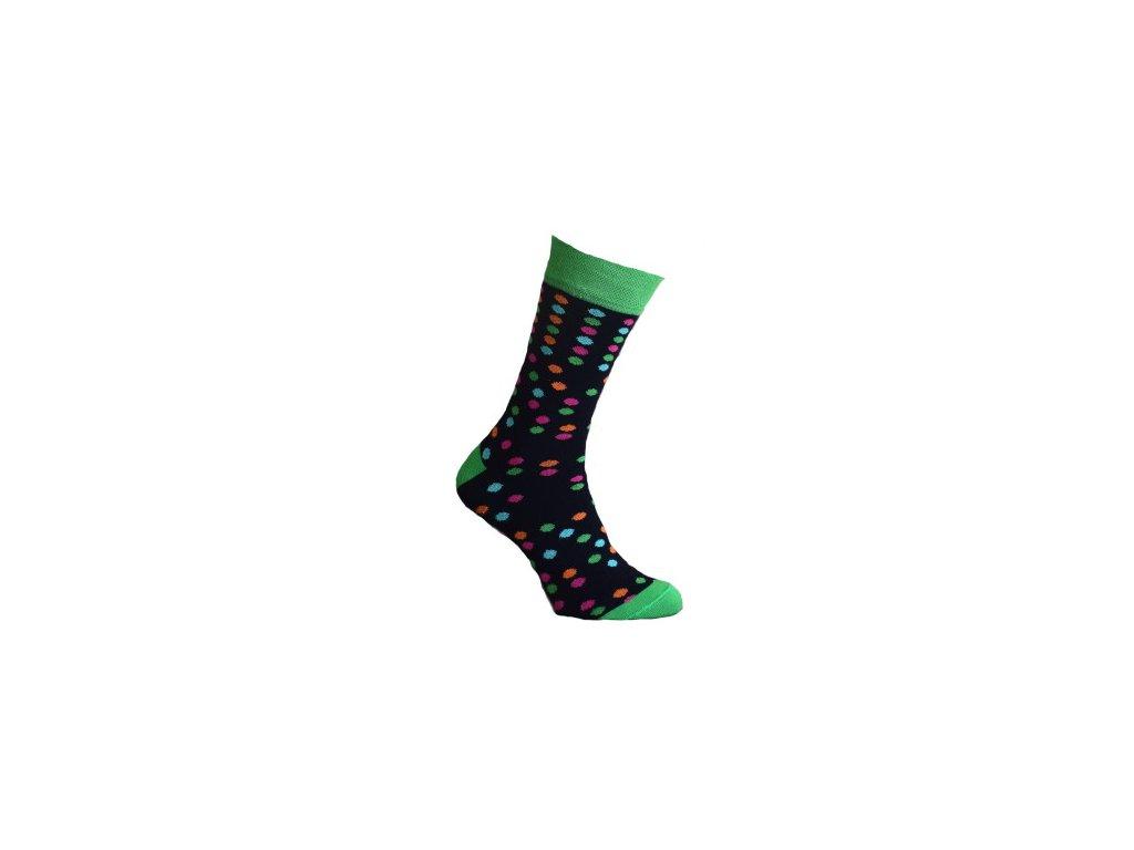 Ponožky s puntíky 181