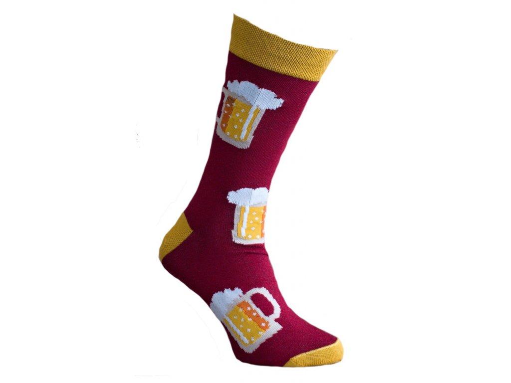 Ponožky s pivem 263